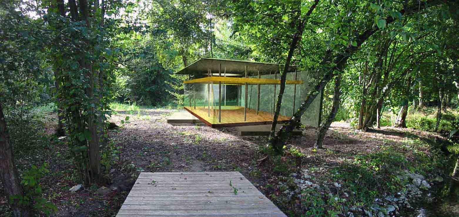 Figure libre architecture r alisations pavillon de lecture delacroix - Figure libre architecture ...